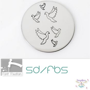 Wedding Dove Metal Design Stamps - Which One?