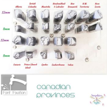 Canadian Provinces Metal Design Stamps - Which One?