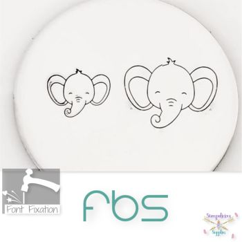 Baby Elephant Face Metal Design Stamps - Which One?