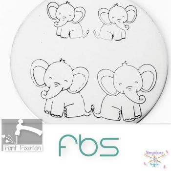 Sitting Baby Elephant Metal Design Stamps - Which One?