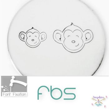 Baby Monkey Face Metal Design Stamps - Which One?