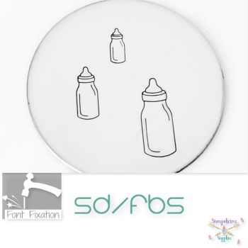 Baby Bottle Metal Design Stamps - Which Size?