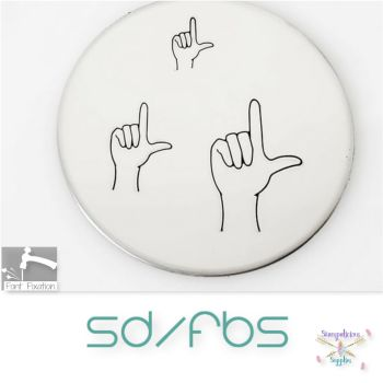 Loser Gesture Metal Design Stamps - Which Size?