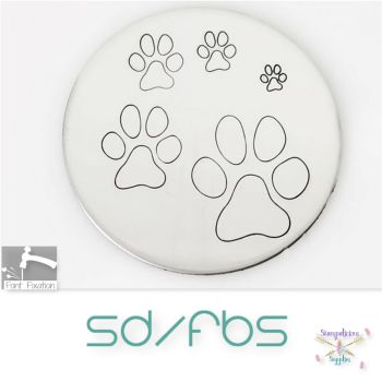 Paw Print Metal Design Stamps - Which One?  *** Standard Paw ***