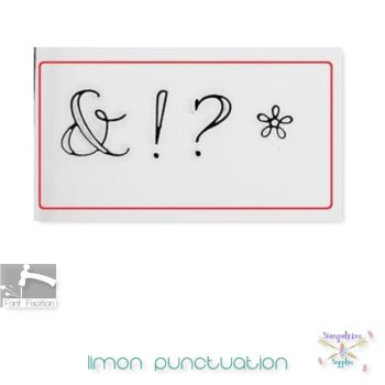 Limon - Individual Punctuation - Which One? **** Different Sizes Available ****