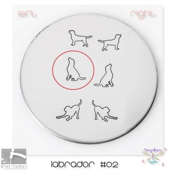Labrador #02 Dog Metal Design Stamp - Which One?