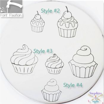 Cupcakes Metal Design Stamps - Which One?