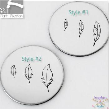 Feather Metal Design Stamps - Which One?