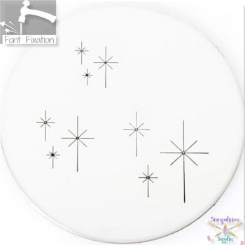 Star Cluster Metal Design Stamps - Which One?  *** #2 ***