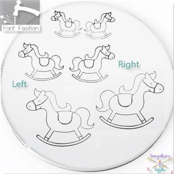 Baby Rocking Horse Metal Design Stamps - Which One?
