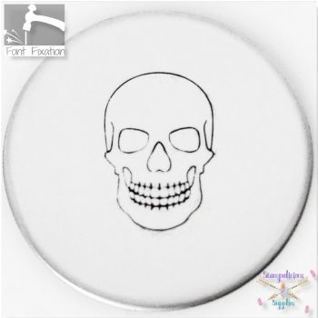 Large Skull Metal Design Stamps - Which One?