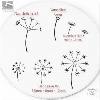 Dandelion & Fluff Metal Design Stamps - Which One?