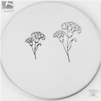 Carnation Metal Design Stamps - Which One?