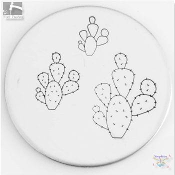 Cactus #4 Metal Design Stamps - Which One?