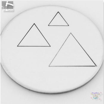Equilateral Triangle Metal Design Stamps - Which One?