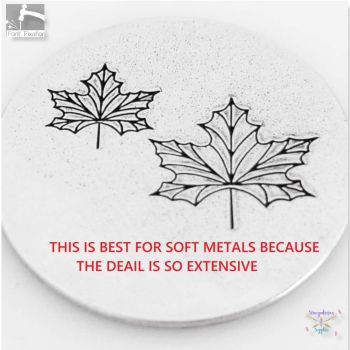 Maple Leaf Metal Design Stamps - Which One?