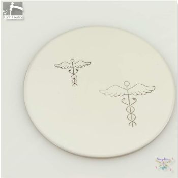 FBS Large Medical Symbol Metal Design Stamps - Which One?  *** Caduceus ***