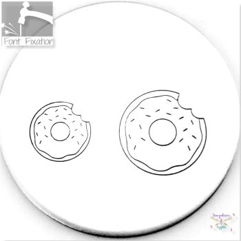 Cute Doughnut Metal Design Stamps - Which One?  *** Donut ***