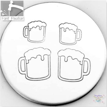 Cute Beer Mug Metal Design Stamps - Which One?