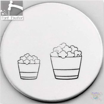 Cute Popcorn Metal Design Stamps - Which One?