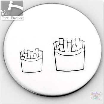 Cute French Fries Metal Design Stamps - Which One?