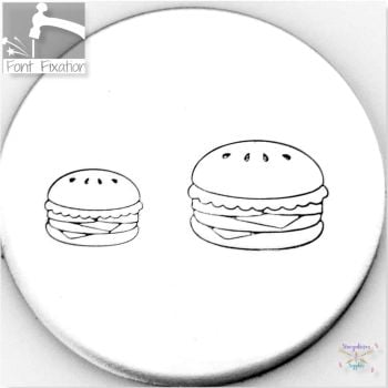 Cute Burger Metal Design Stamps - Which One?