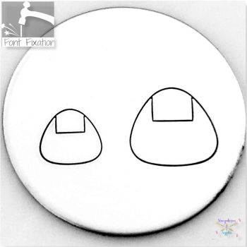 Cute Sushi Metal Design Stamps - Which One?  *** #6 ***