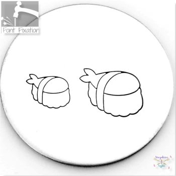 Cute Sushi Metal Design Stamps - Which One?  *** #5 ***