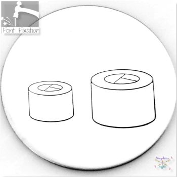 Cute Sushi Metal Design Stamps - Which One?  *** #4 ***