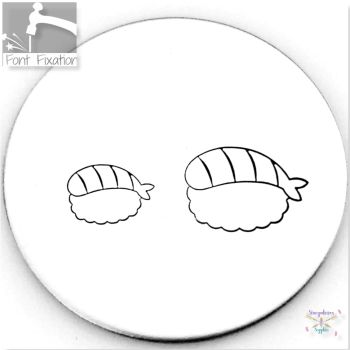 Cute Sushi Metal Design Stamps - Which One?  *** #1 ***