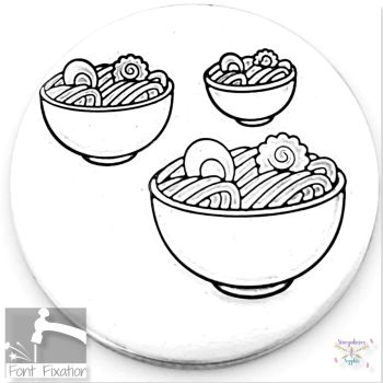 Cute Ramen Bowl Metal Design Stamps - Which One?