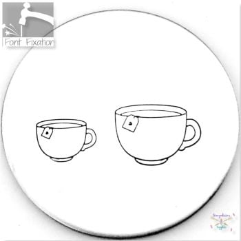 Cute Cup Of Tea Metal Design Stamps - Which One?