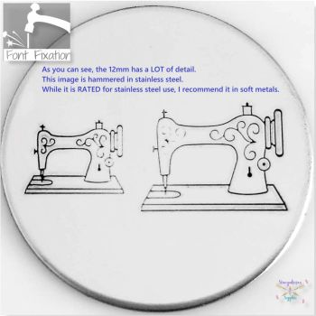 Vintage Sewing Machine Metal Design Stamps - Which One?  *** #1 ***