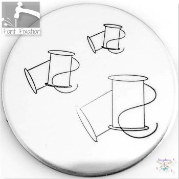 Sewing Spools Metal Design Stamps - Which One?