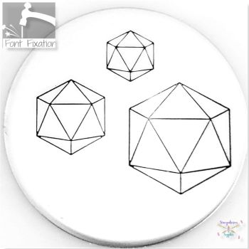 D20 Metal Design Stamps - Which One?  *** Dice #3 ***