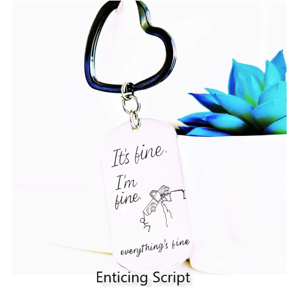 Enticing Script - Different Sizes Available