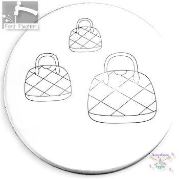 Handbag Metal Design Stamp *** Purse #2 *** - What Size?