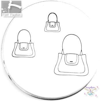 Handbag Metal Design Stamp *** Purse #3 *** - What Size?