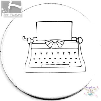 Typewriter Metal Design Stamp