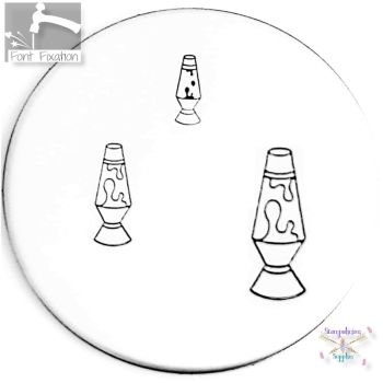 Lava Lamp Metal Design Stamp - What Size?