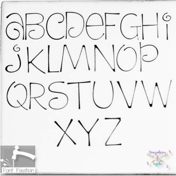 5mm Dream Cake Hand Stamping Font - Which Size/Set?