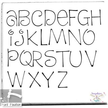 4mm Dream Cake Hand Stamping Font - Which Size/Set?