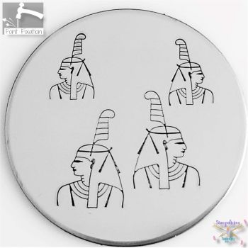 Egyptian Maat - Goddess of Truth & Justice Metal Design Stamp - What Size?