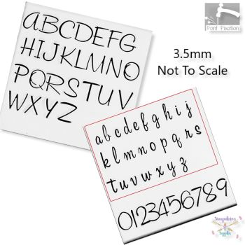 Cocktail Sauce Metal Font Set - Which Set?  **** 3.5mm / 5mm & 6.5mm Available Here ****