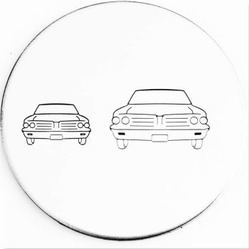 Front View Car Metal Design Stamp - What Size?   *** #1 ***