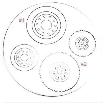 Wheel Metal Design Stamp - What Style?