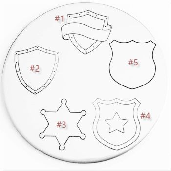 Shield Metal Design Stamp - What Style & Size?