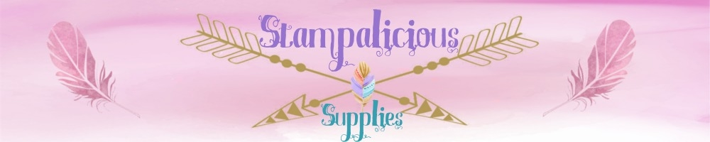 Stampalicious Supplies, site logo.