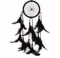 Feather Dreamcatcher (black)