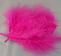 Dark Pink Marabou Feathers